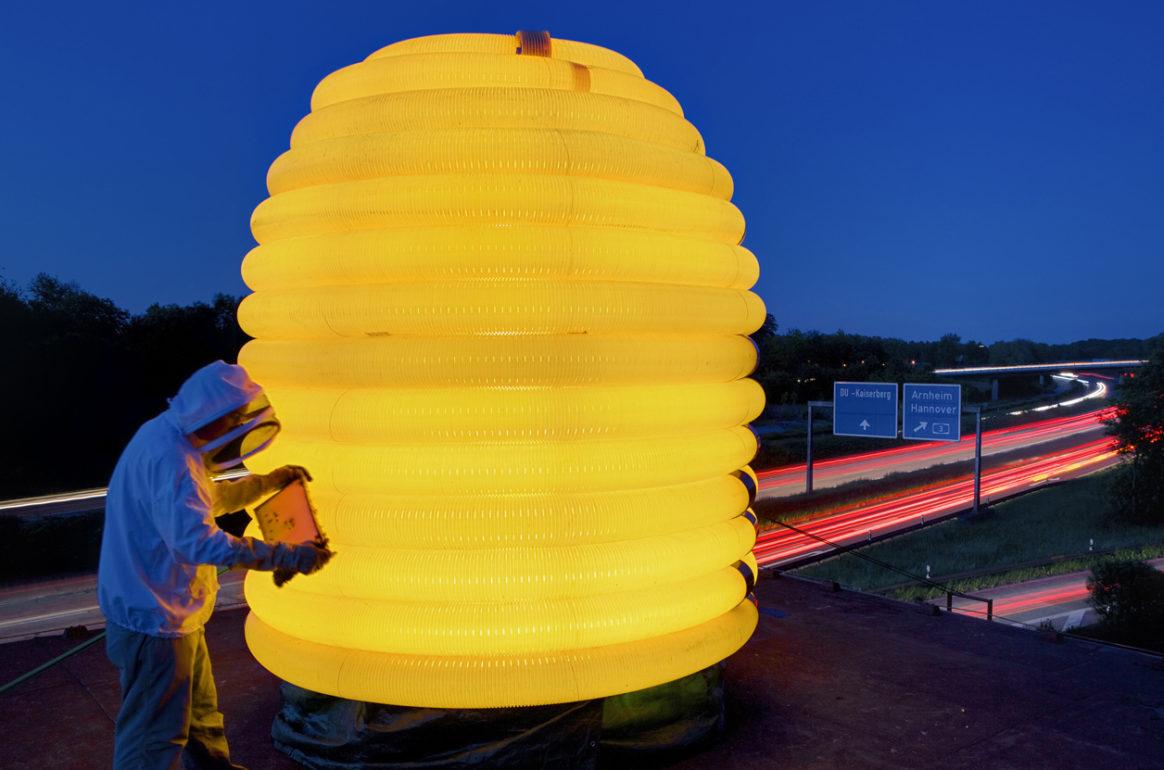 künstlergruppe finger: Neues Museum für Bienen