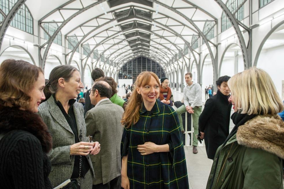 Eröffnung Susan Philipsz - Part File Score, Hamburger Bahnhof, Berlin, 31.01.14