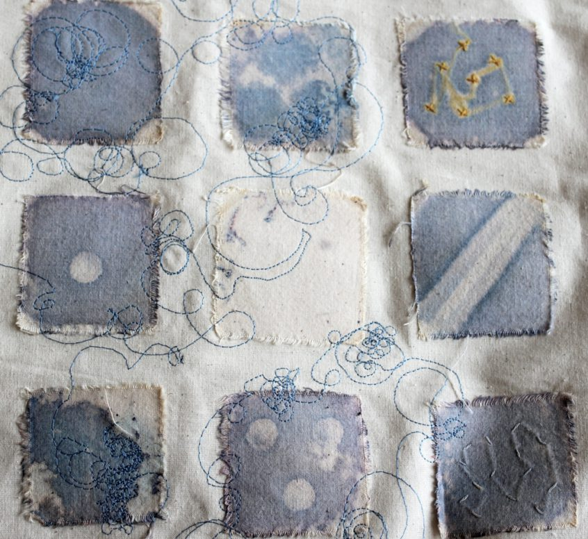 Anna Dumitriu, The MRSA Quilt