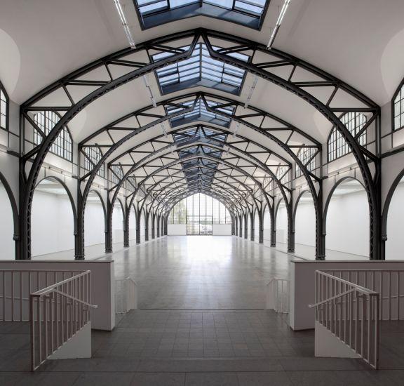 Historische Halle Hamburger Bahnhof
