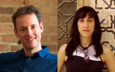 Organisatorenteam: Boris Kleber und Maria Herrojo Ruiz