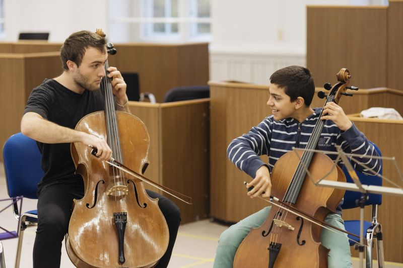 MitMachMusik – One year music lessons for refugees