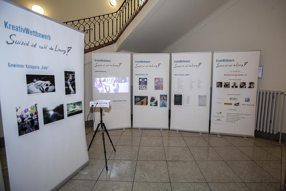 """Exhibition """"Suicide Is No Solution!"""""""