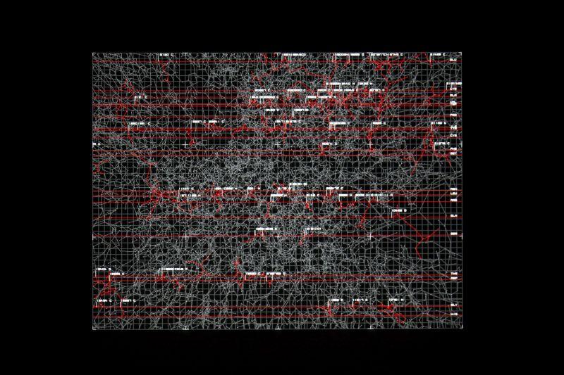 datamatics von Ryoji Ikeda