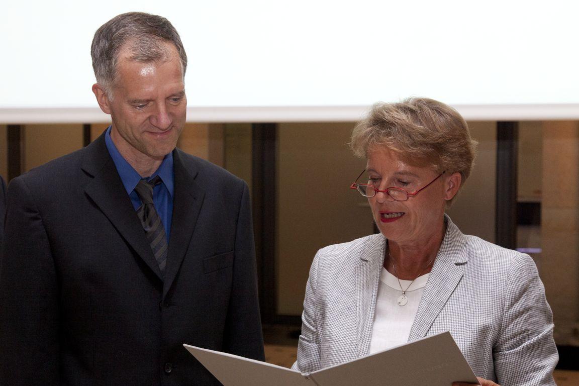 Matthias Mann, Ulrike Flach - Ernst Schering Prize 2012