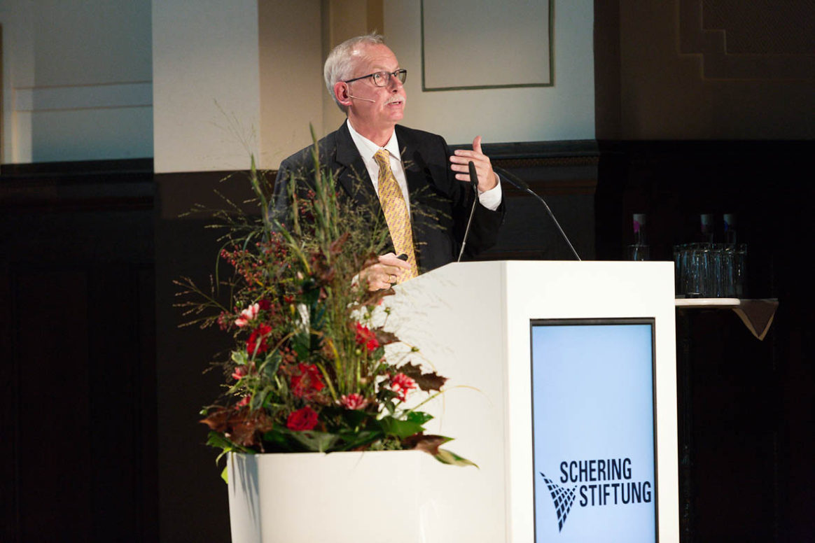 Prof. Dr. Franz-Ulrich Hartl - Ernst Schering Award Ceremony 2016
