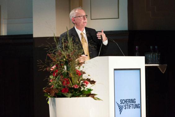 Prof. Dr. Franz-Ulrich Hartl - Ernst Schering Preisverleihung 2016