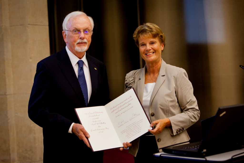 Prof. Bert W. O'Malley - Ernst Schering Award Ceremony 2011