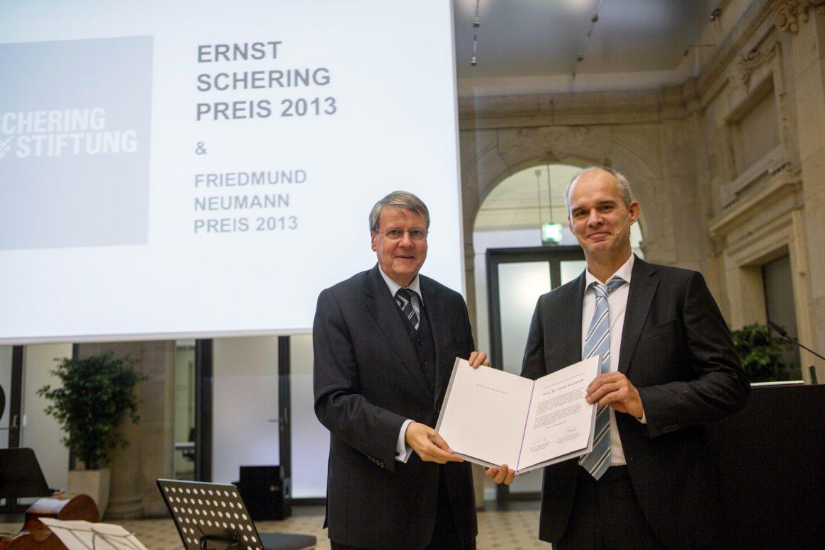 Prof. Dr. Frank Kirchhoff - Ernst Schering Award Ceremony 2013