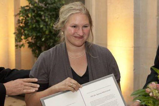 PD Dr. Sylvia Mechsner - Friedrich Neumann Award Ceremony 2012