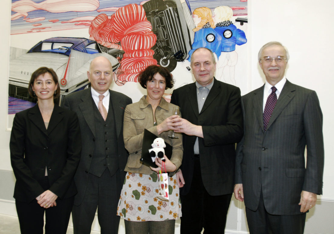 Dr. Ilona Murati-Laebe, Prof. Dr. Christoph Stölzl, Cornelia Renz, Mark Gisborne, Dr. Hubertus Erlen