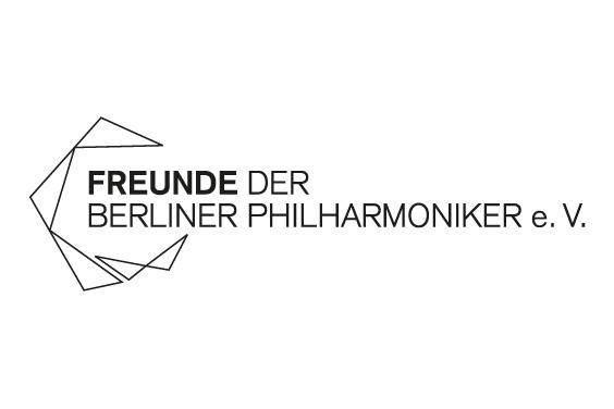 Logo: Freunde der Berliner Philharmoniker