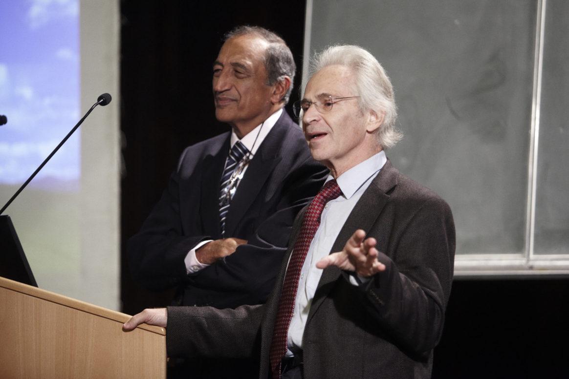 Prof. em. Sir Ravinder Maini & Prof. Sir Marc Feldmann - Ernst Schering Preis 2010, Schülervortrag