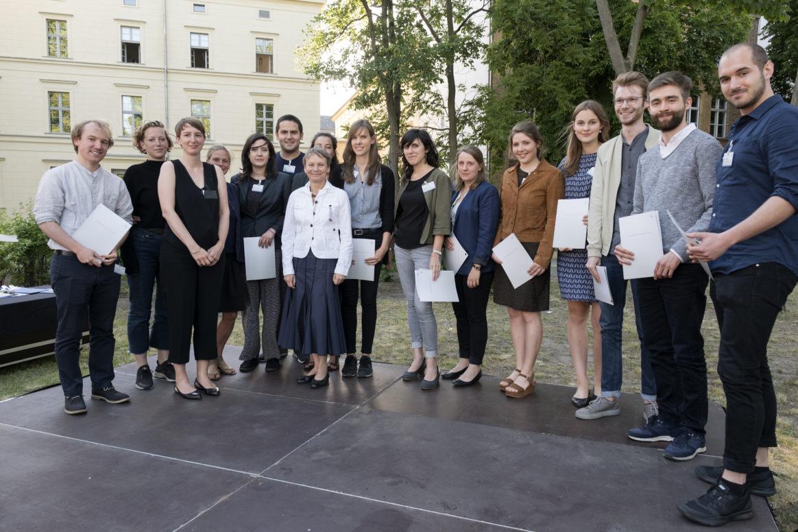 Vergabe der Urkunden für das Deutschlandstipendium bei der Stipendiatenfeier der HU