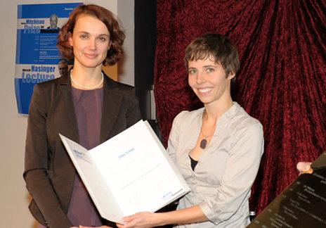 Heike Catherina Mertens und Dr. Edda Schulz