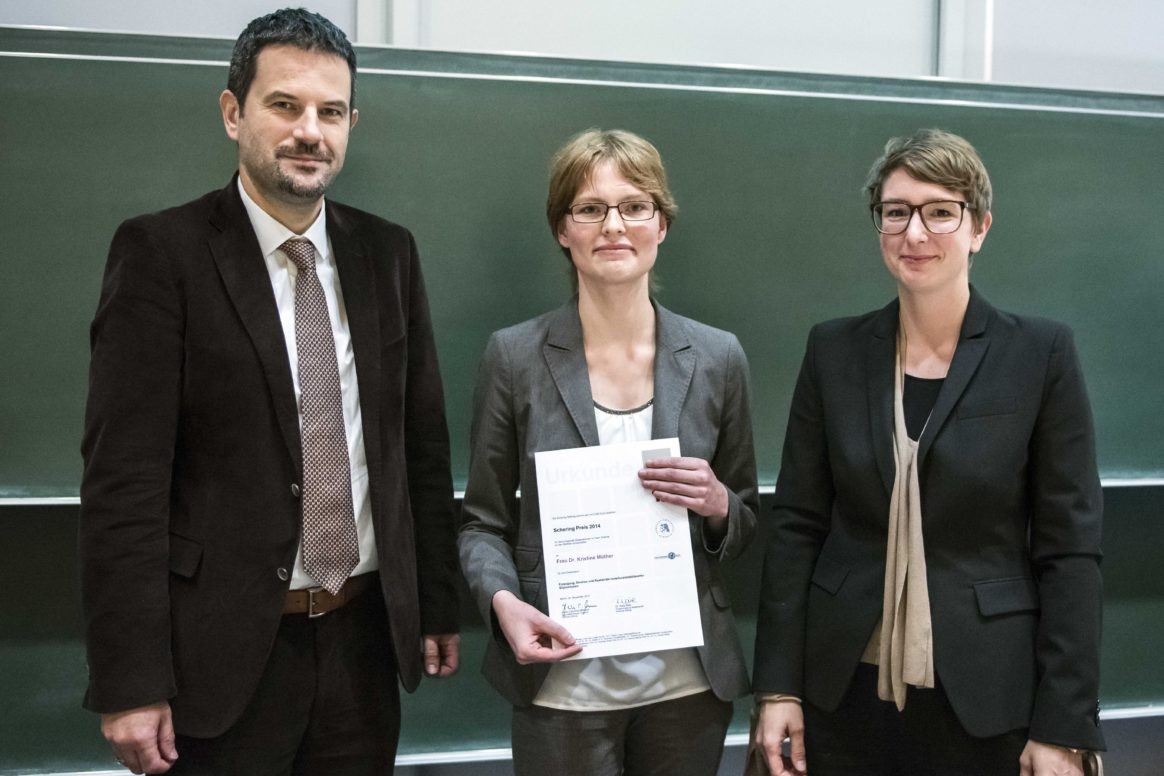 Prof. Dr. Martin Oestreich, Dr. Kristine Müther, Dr. Katja Naie