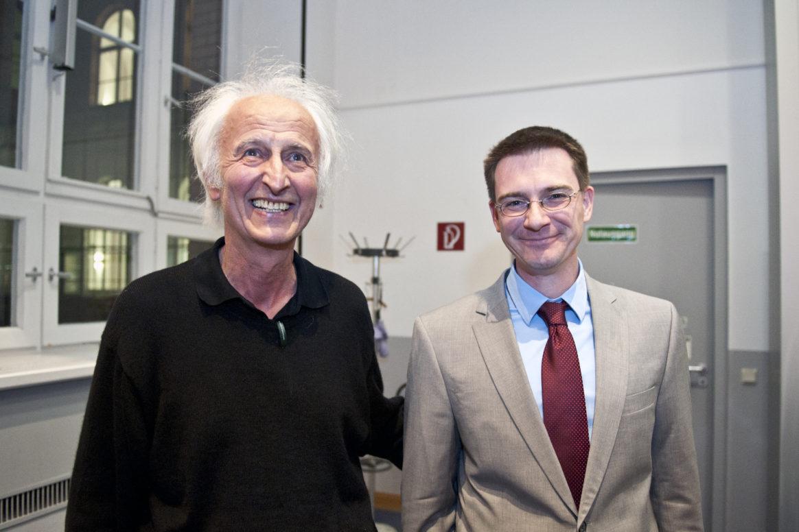 Prof. Dr. Drs. h.c. Helmut Schwarz; Dr. rer. nat. Burkhard Butschke