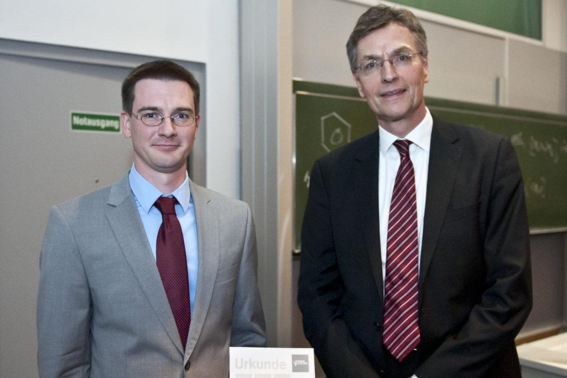 Dr. rer. nat. Burkhard Butschke, Prof. Dr. Reiner Metternich