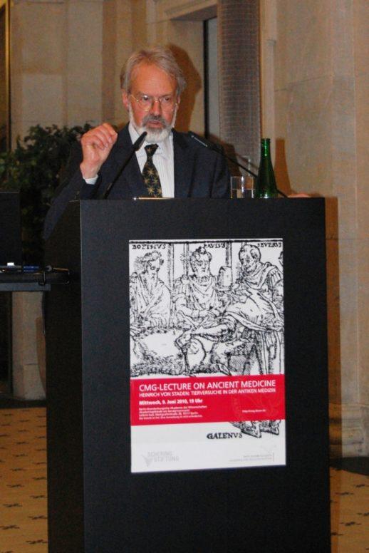 Prof. Dr. Heinrich von Staden