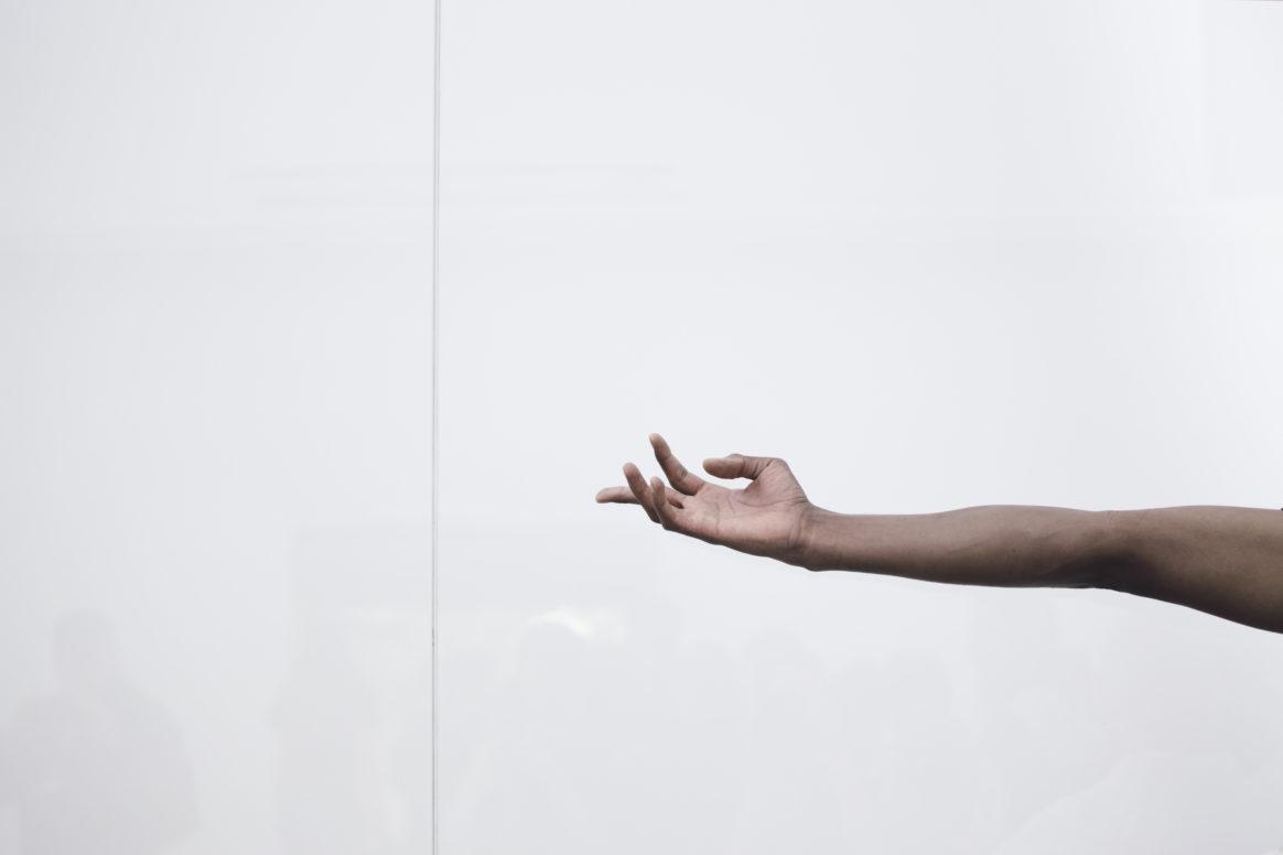 Josh Johnson in Anne Imhof, Faust, 2017, Deutscher Pavillon, 57. Internationale Kunstausstellung– La Biennale di Venezia
