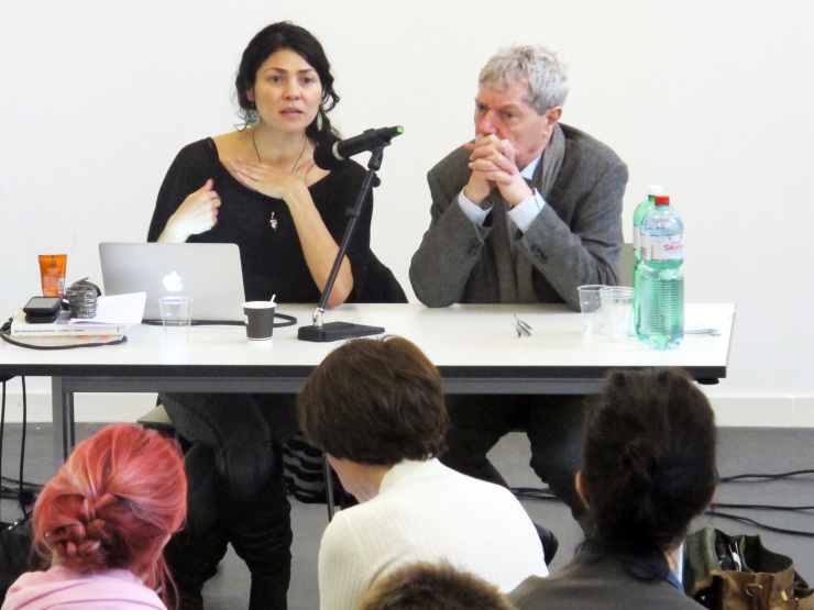 Julieta Arande und Hans-Jörg Rheinberger