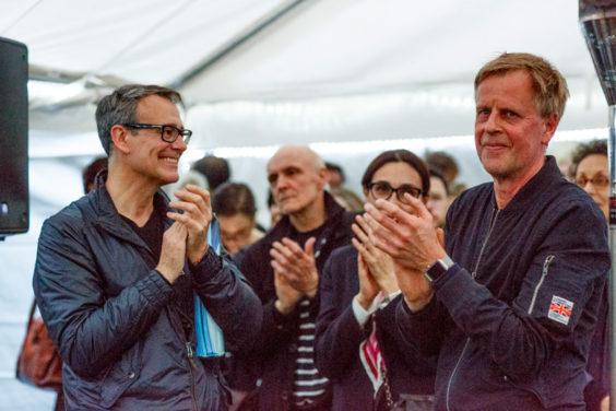 Philipp Lachenmann: DELPHI Rationale. Ausstellungseröffnung 12. April 2018