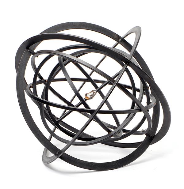 "Martin Maeller »ohne Titel (Armillarsphäre)« 2013 [en:]Martin Maeller ""Untitled (Armillary sphere)"" 2013"