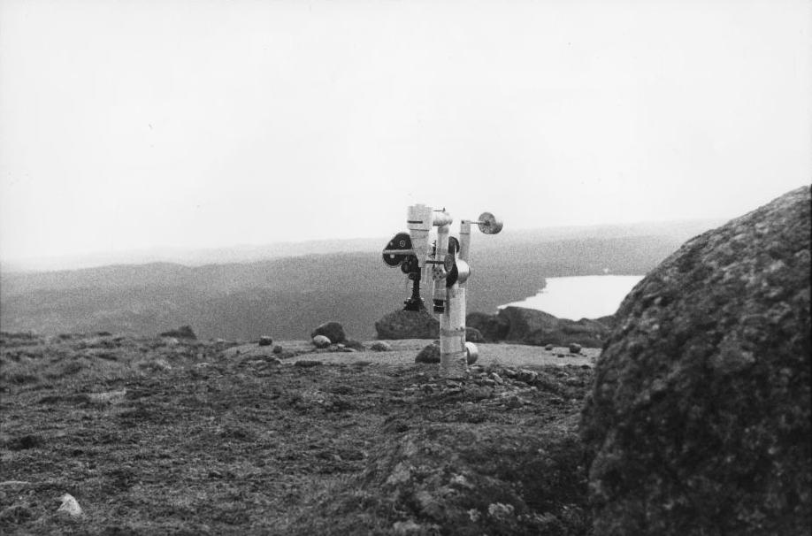 """Camera construction for """"La Région Centrale,"""" 1971"""