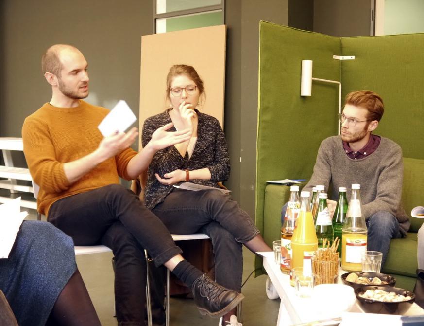 Intro-Workshop und Kennenlernen der neuen Themenklasse im April 2017
