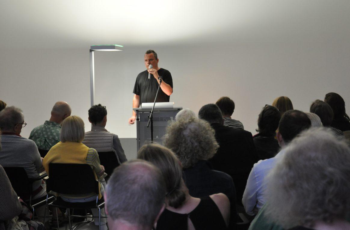 Marcus Steinweg zu Gast in der Schering Stiftung