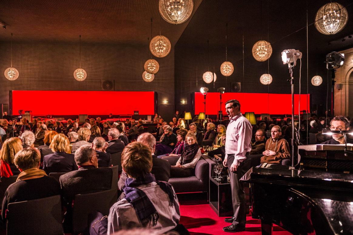 Salon in der Komischen Oper Berlin