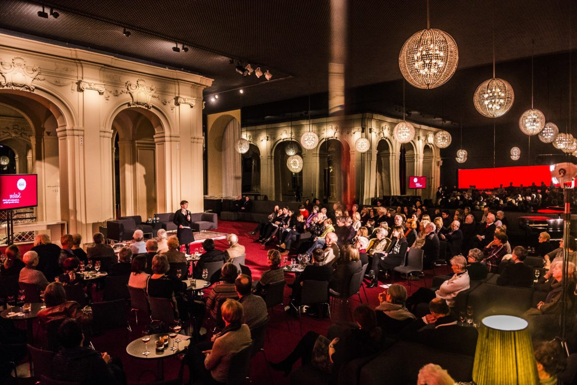 Salon at the Komische Oper Berlin