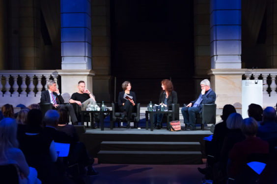 Evening Event Worlds of Taste, 14 th November 2018 with Hanns Hatt, Thomas O. Höllmann, Anne-Rose Meyer and Geza Schön
