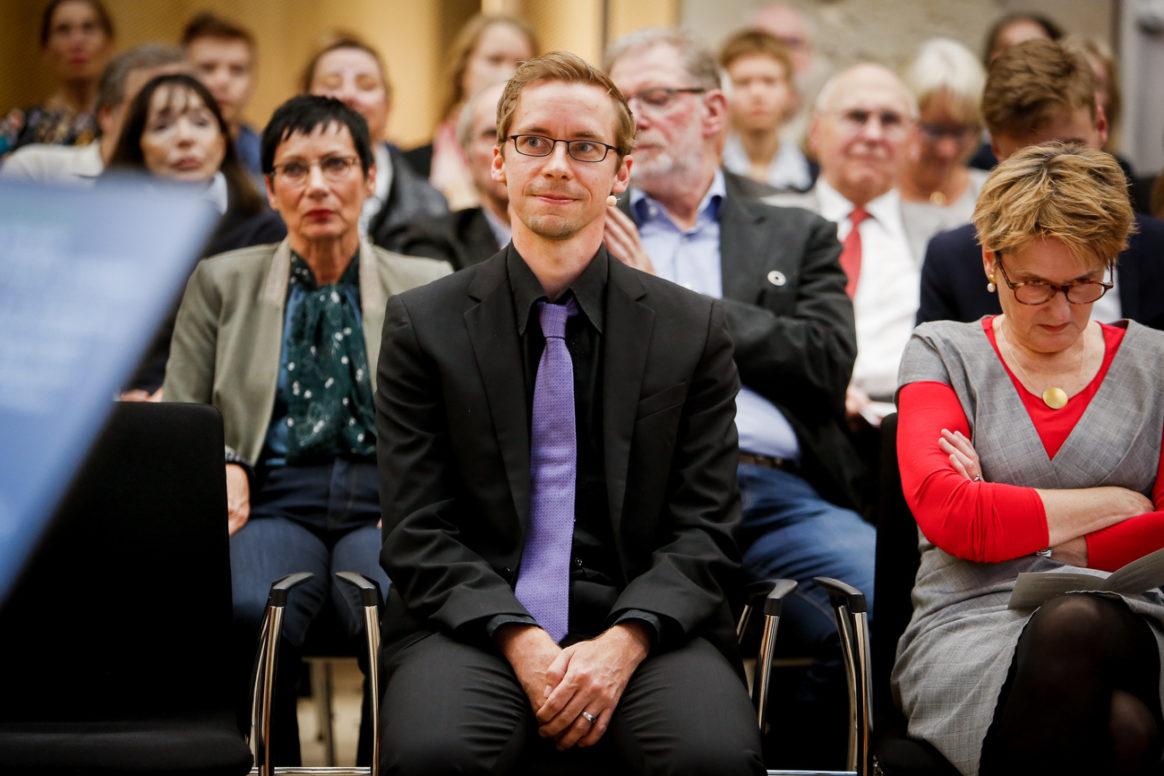 Ernst Schering Preis 2019 & Friedmund Neumann Preis 2019  am 24.09.2019  im Leibnizsaal in Berlin.Feierliche Preisverleihung zu Ehren von Patrick Cramer und Johannes Köster