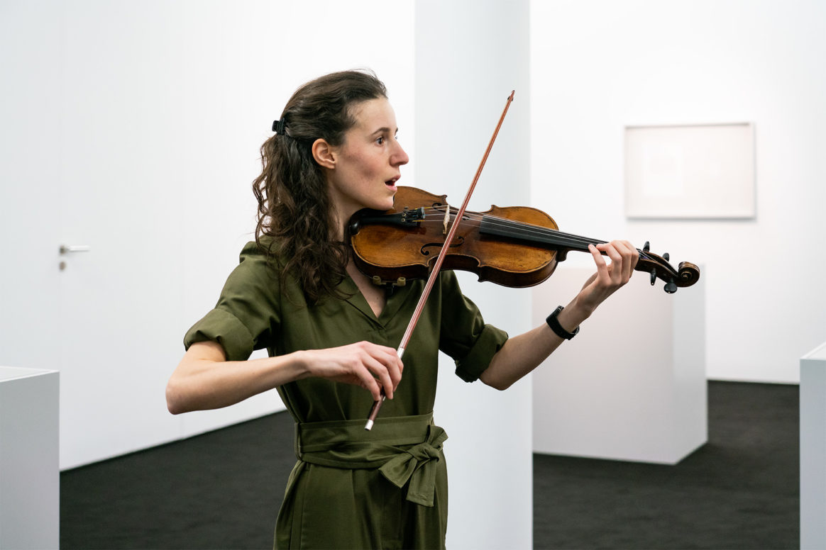Ari Benjamin Meyers: Solo for Ayumi, performance exhibition, January 18, 2020
