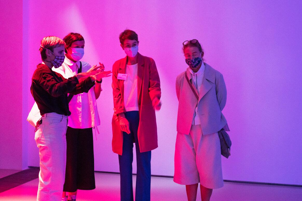 """Ausstellungseröffnung, Hyphen Labs """"PushMi PullYu""""  11.09.2020,  Schering Stiftung"""