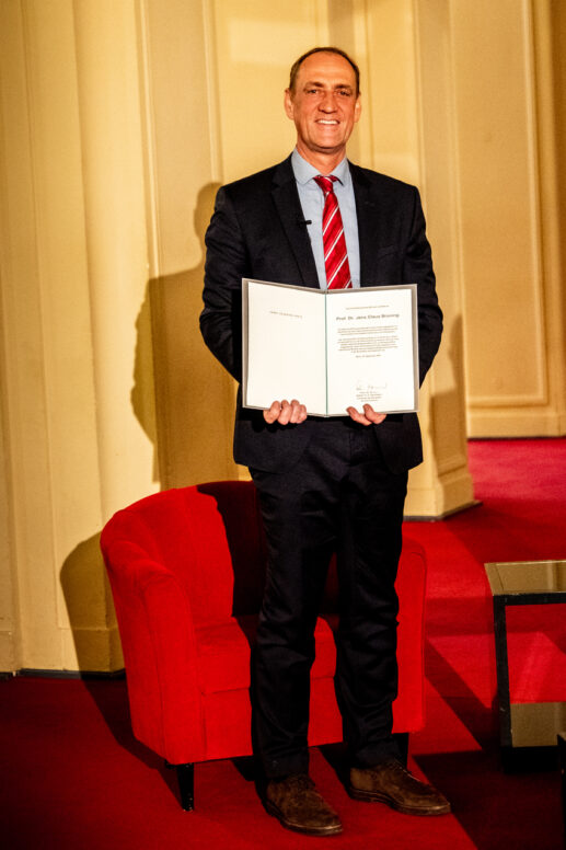 Ernst Schering Prize 2020 & Friedmund Neumann Prize 2020 on 30/09/2020 at Komische Oper Berlin. Award ceremony in honor of Jens Brüning and Florian Kahles.