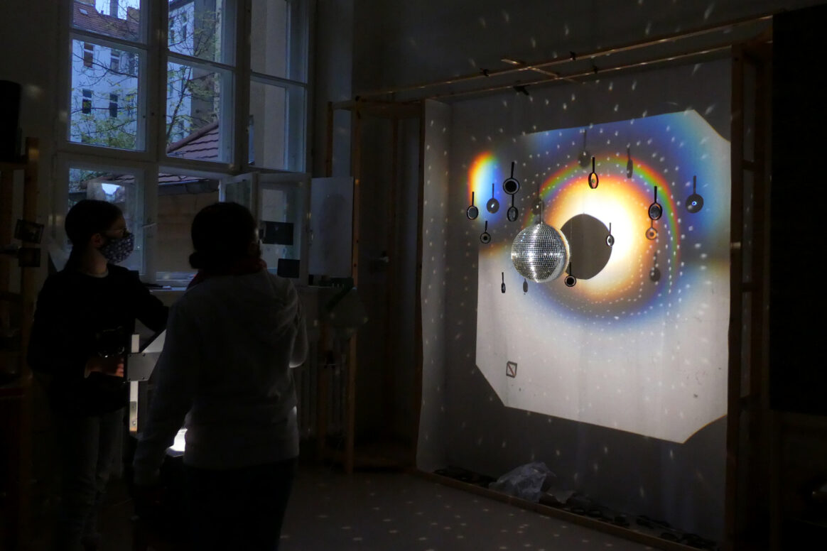 Experiments in Vanessa Farfán's Studio