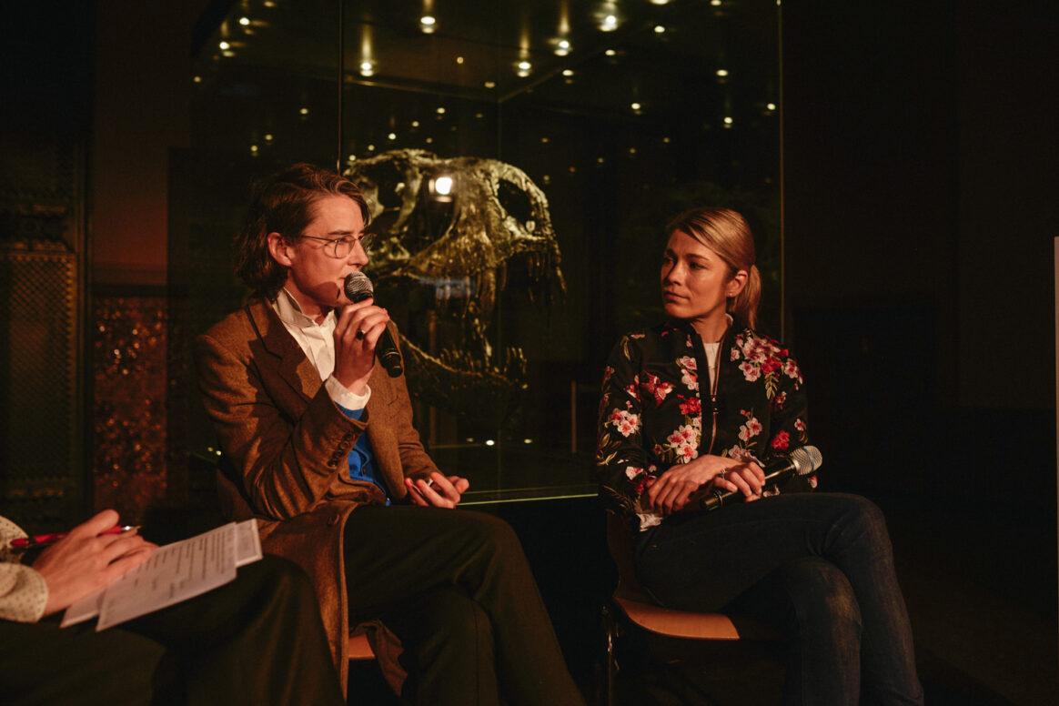 Simone Schürle und Susanne M. Winterling im Gespräch