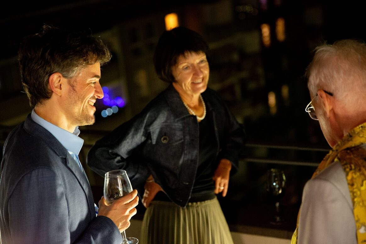 Verleihung des Ernst Schering Preises an Aviv Regev & des Friedmund Neumann Preises an Judith Feucht. In der Berlin-Brandenburgischen Akademie der Wissenschaften in Berlin am 07.09.2021